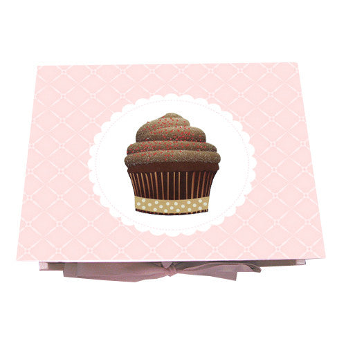Dolce chocolate cupcake box set