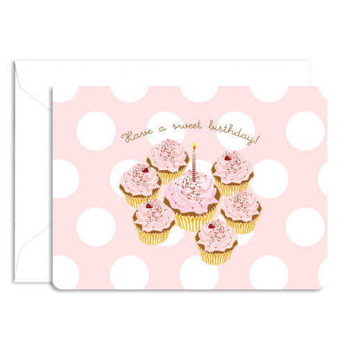 dolce cupcake note card