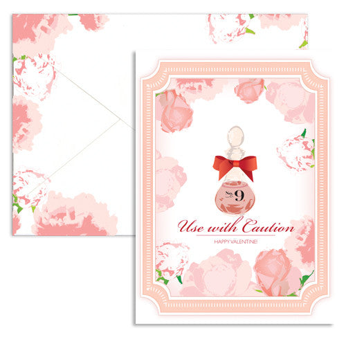 valentine love potion note card