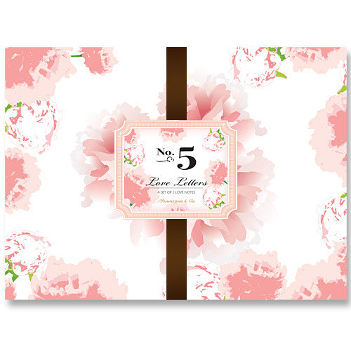 Valentine Note Cards Set