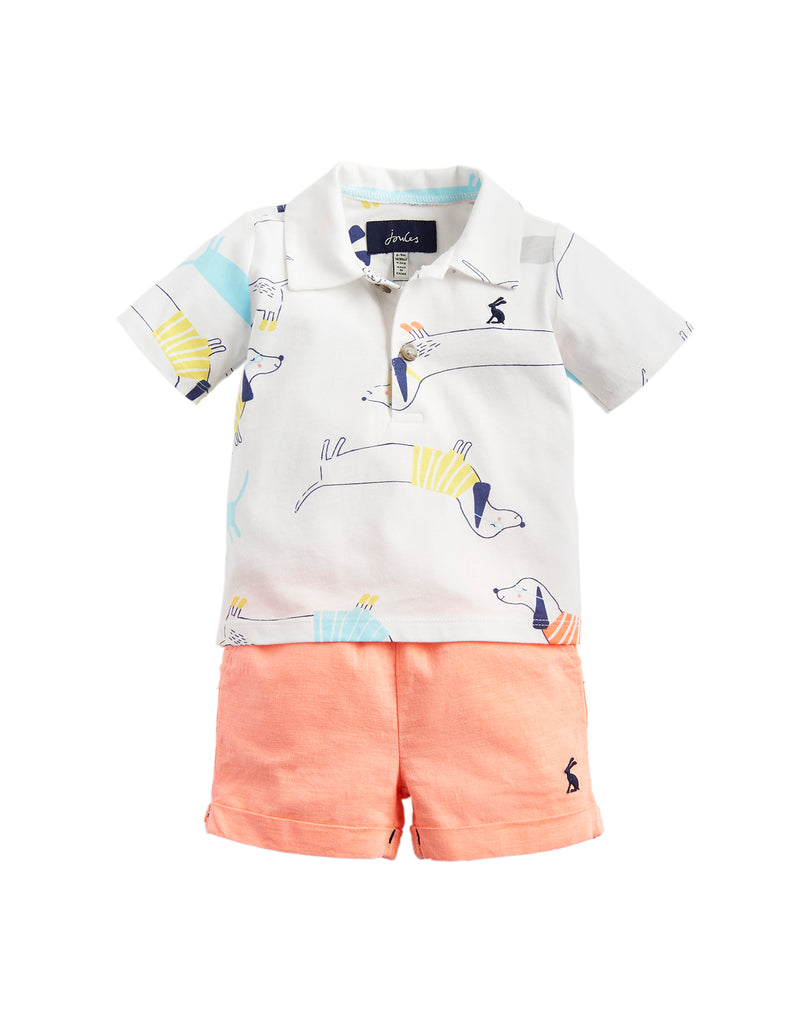 Joules Baby Ernest Shorts and Top