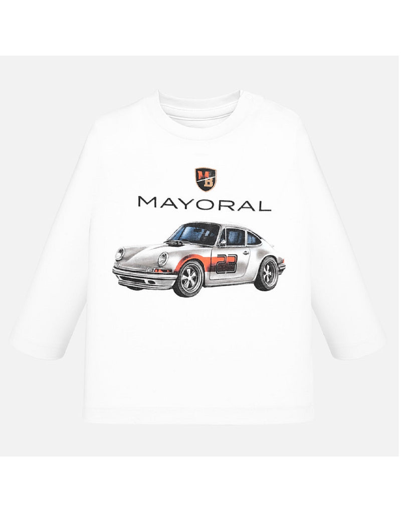 Mayoral White T Shirt