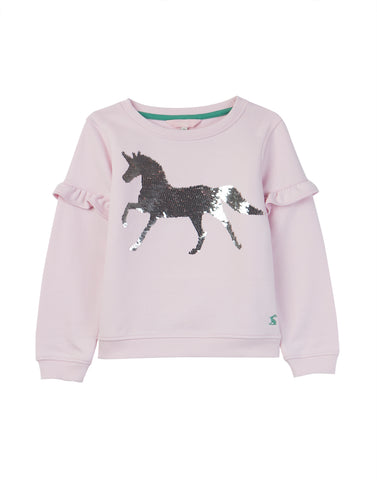 Joules Tiana Pink Horse Top
