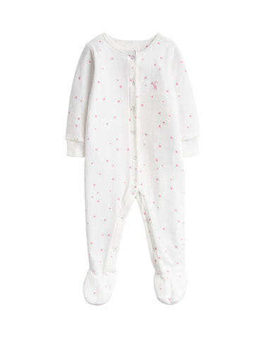 Joules Cosmo Baby Grow Cream Star