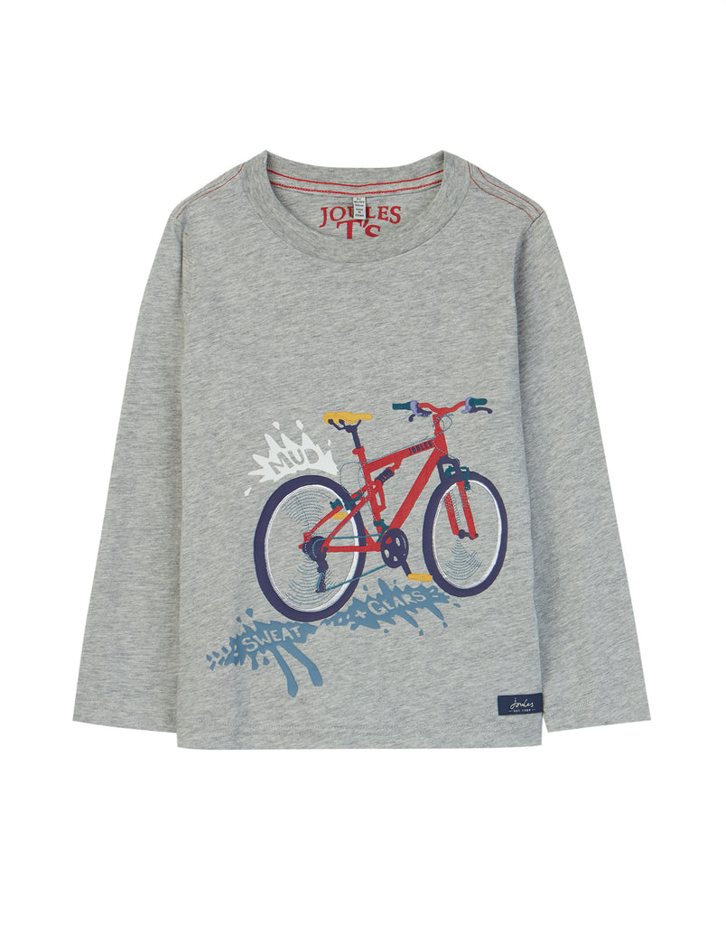 Joules Jack T-Shirt Grey