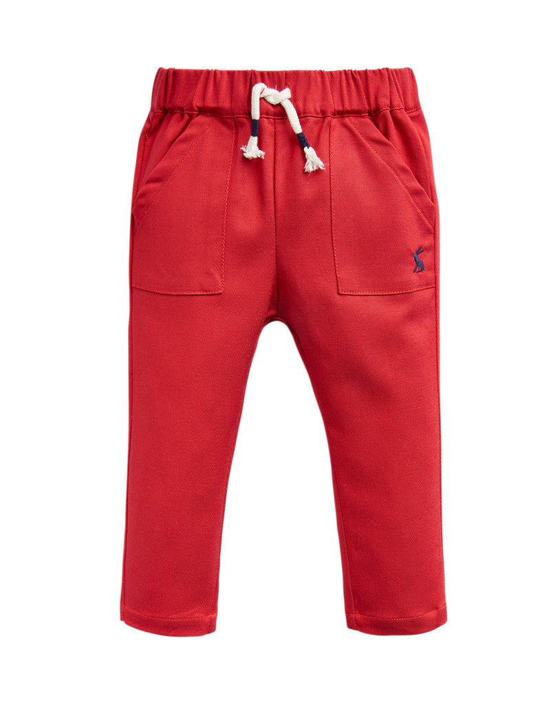 Joules Ethan Red Trousers