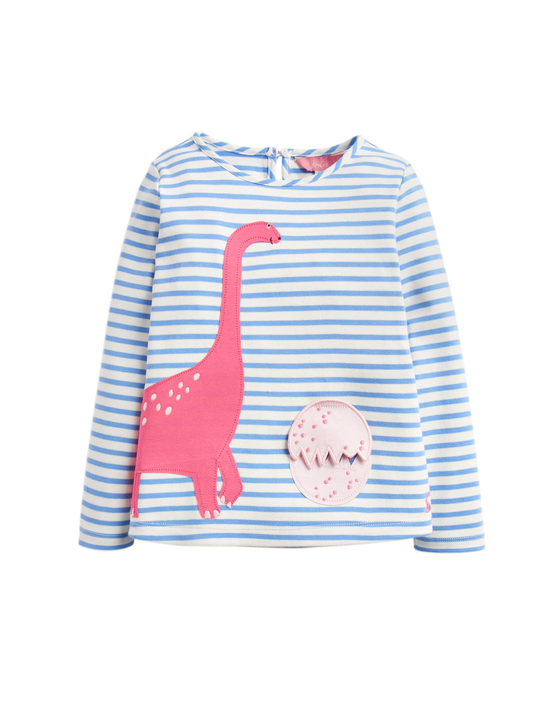 Joules Baby Chomp T-Shirt Blue Stripe