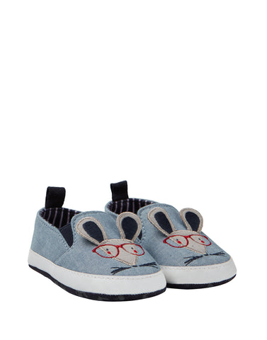 Joules Littleton Blue Mouse Shoes
