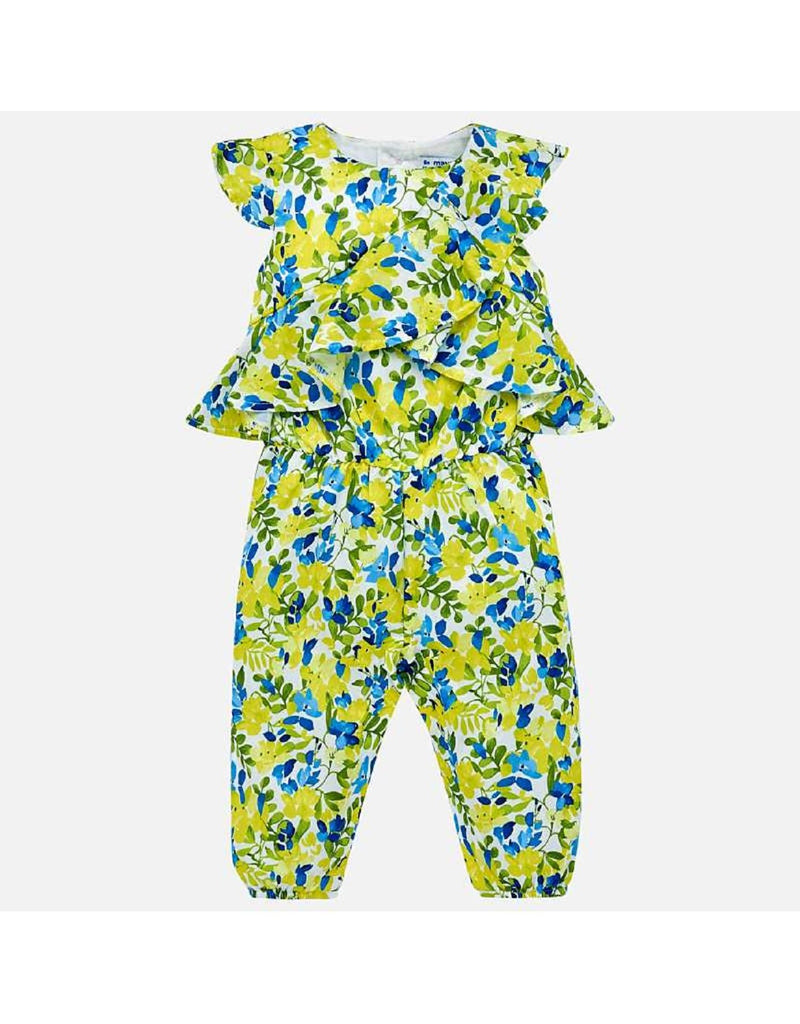 Mayoral Long Printed Romper