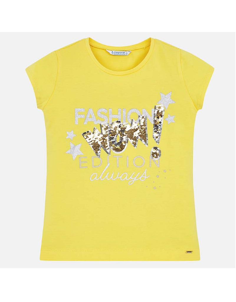Mayoral T-Shirt Yellow