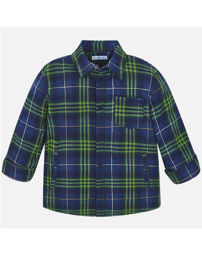 Mayoral Cypress Checked Overshirt