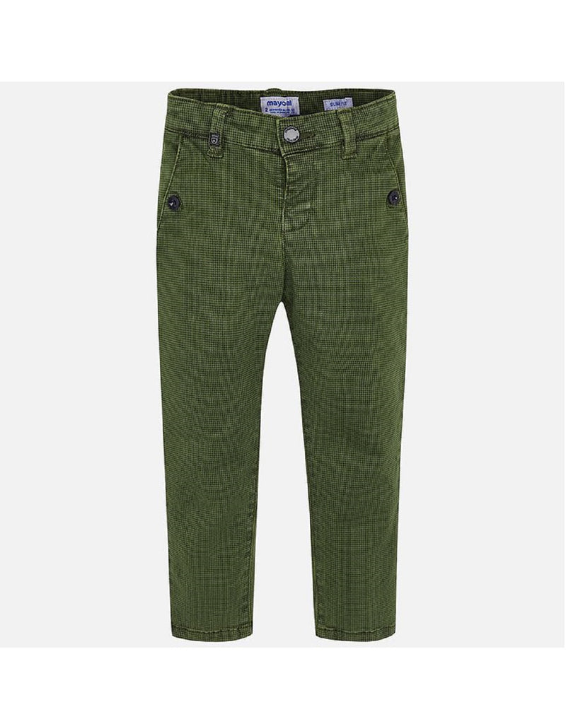 Mayoral Moss Printed Trousers