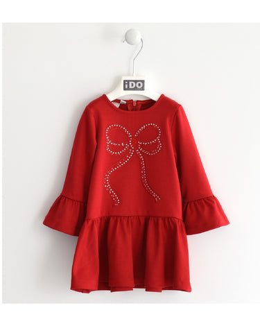 I Do Red Knitted Dress