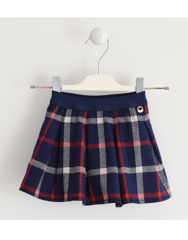 I Do Checked Skirt