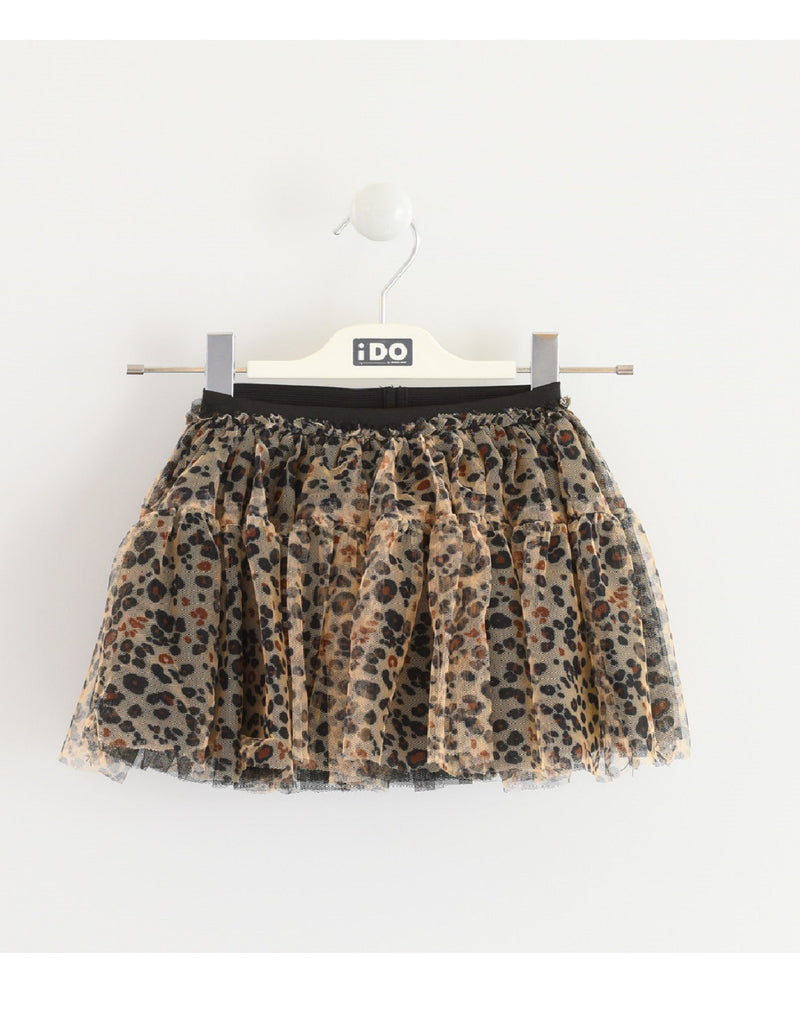 I Do Animal Print Skirt