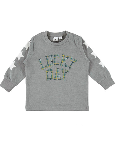 Levi Grey Long Sleeve T-Shirt