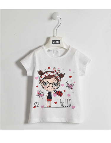 I Do White Ladybird T Shirt