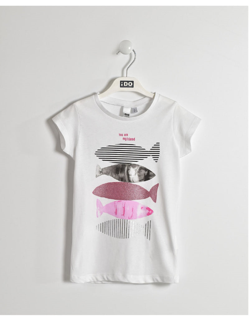 I Do White Fish T Shirt
