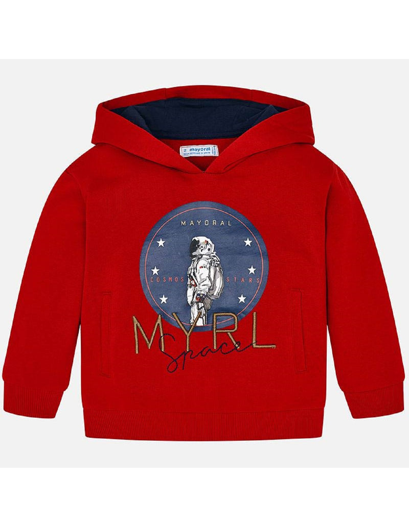 Mayoral Red Space Pullover