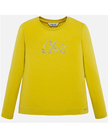 Mayoral Basic Yellow T-Shirt