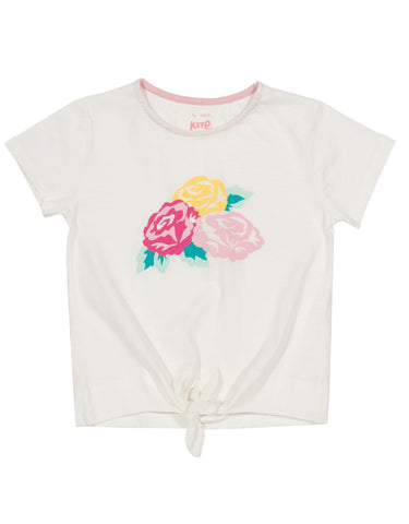 Kite Tea Rose Tie Top