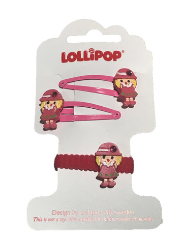 Lollipop Pink Hair Accessories