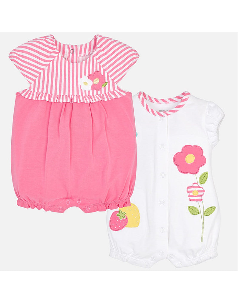 Mayoral 2 Pack Rompers