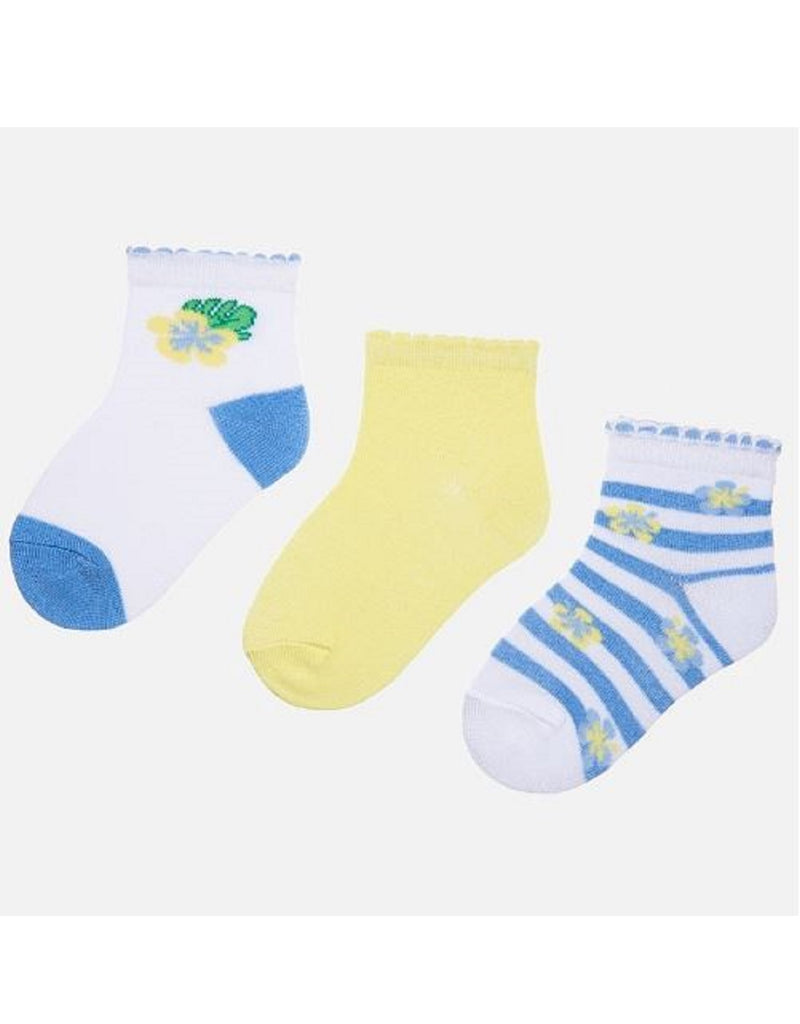 Mayoral 3 Pack Socks