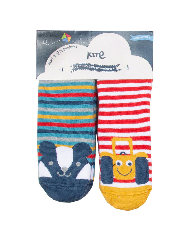 Kite 2 Pack Grippy Sock