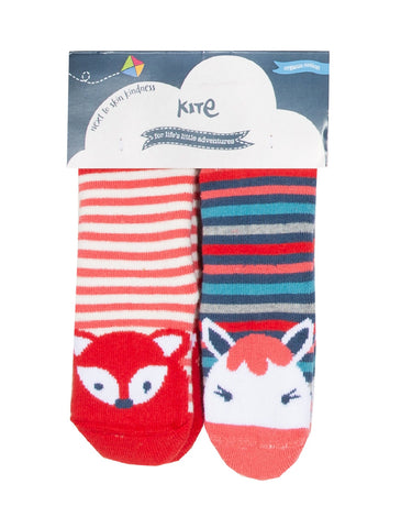 Kite 2 Pack Grippy Socks