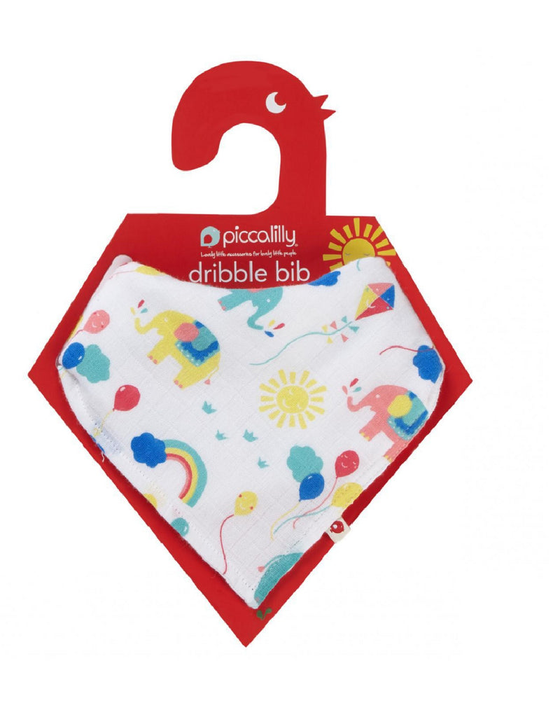 Piccalilly Party Elephant Bib