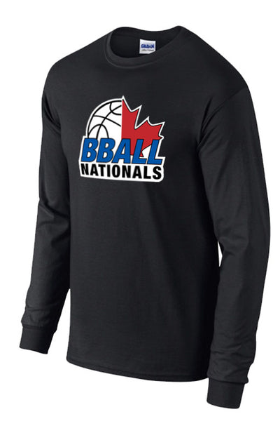 Bball Nationals Long Sleeve Logo T-Shirt