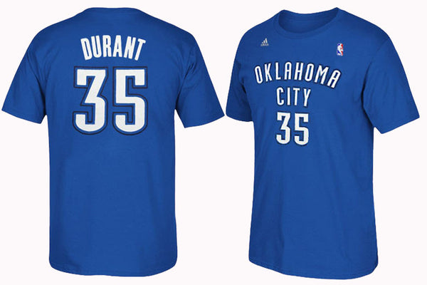 Oklahoma City Thunder #35 Kevin Durant Player Shirt
