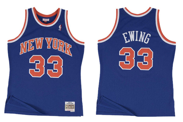 New York Knicks #33 Ewing Swingman Jersey