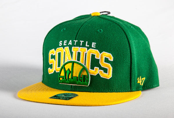Seattle Supersonics Block Shot