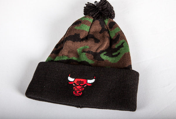 Chicago Bulls Dark Camo Cuffed