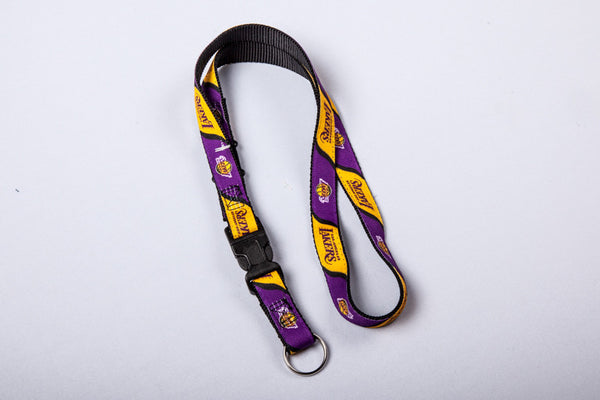 Los Angeles Lakers Webbed Lanyard
