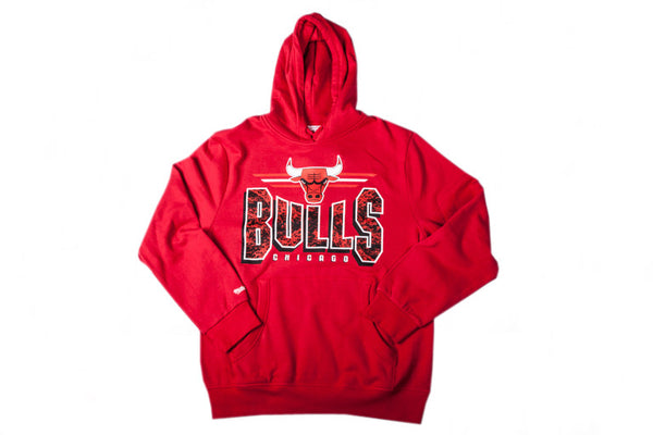 Chicago Bulls Marbled Pop Hoody