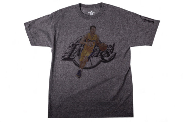 Los Angeles Laker Nash Chrome T-Shirt
