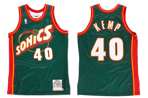 Seattle Sonics #40 Kemp Swingman Jersey