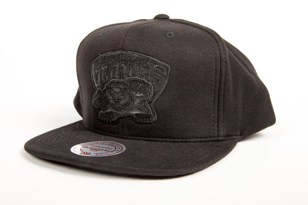 Vancouver Grizzlies Blacked Out Snapback