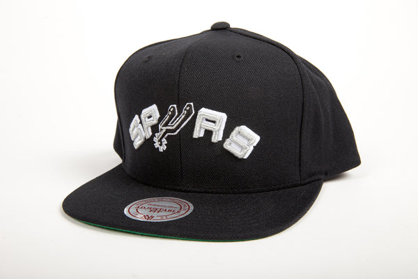 San Antonio Spurs Wool Solid Snapback