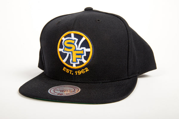 Golden State Warriors Wool Solid Snapback