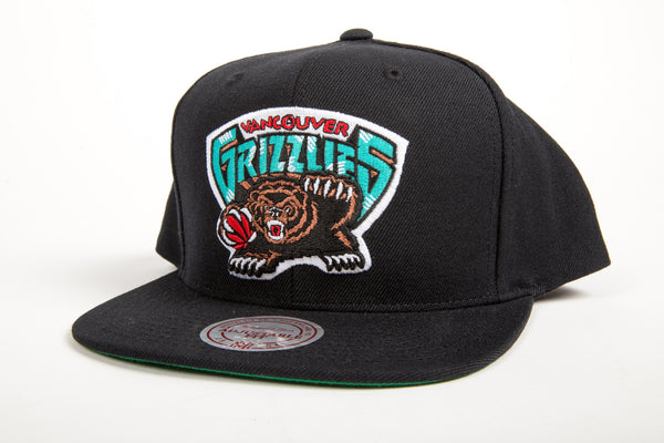 Vancouver Grizzlies Wool Solid Snapback
