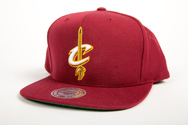 Cleveland Cavaliers Wool Solid Snapback