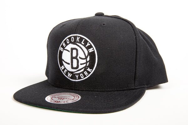Brooklyn Nets Wool Snapback