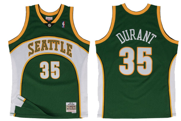 Seattle Sonics #35 Durant Swingman Jersey