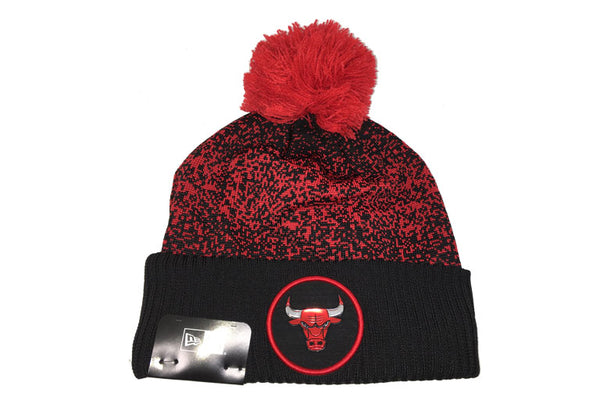 Chicago Bulls NBA 17 Pom Cuff Knit