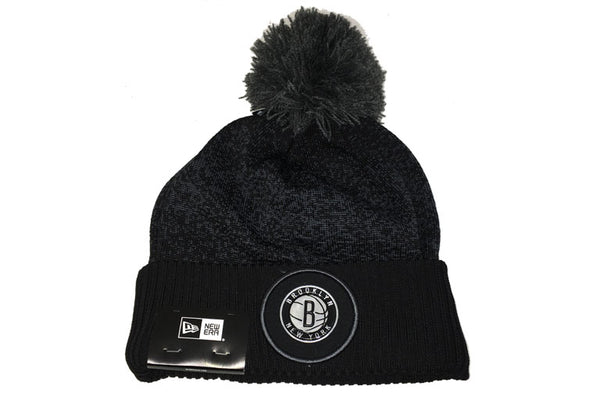 Brooklyn Nets NBA 17 Pom Cuff Knit