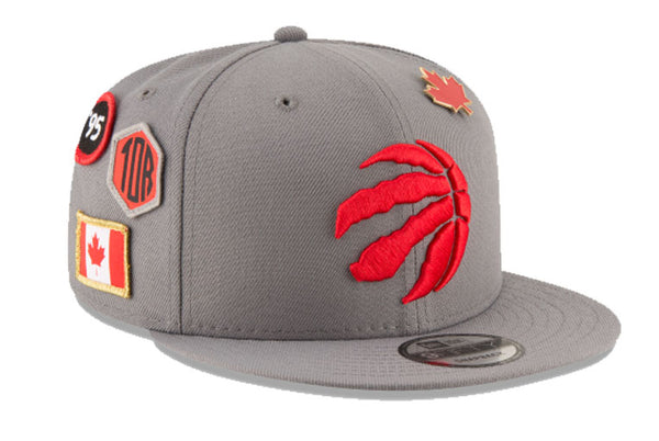 Toronto Raptors NBA Grey Draft 9FIFTY Snapback